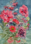 Mixed flowers by Ruth Denison