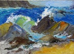 Sea Spray by Diane Goldthorpe