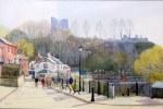 Spring Sunshine, Knaresborough by Andrew Bentley
