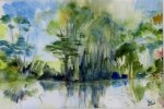 Memories of Giverney 1 by Ann Mitchell